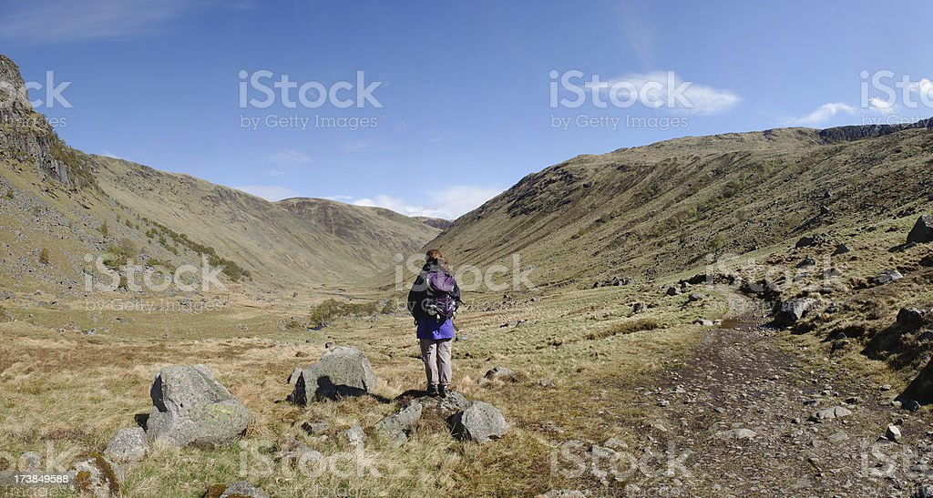 In the valley royalty-free stock photo