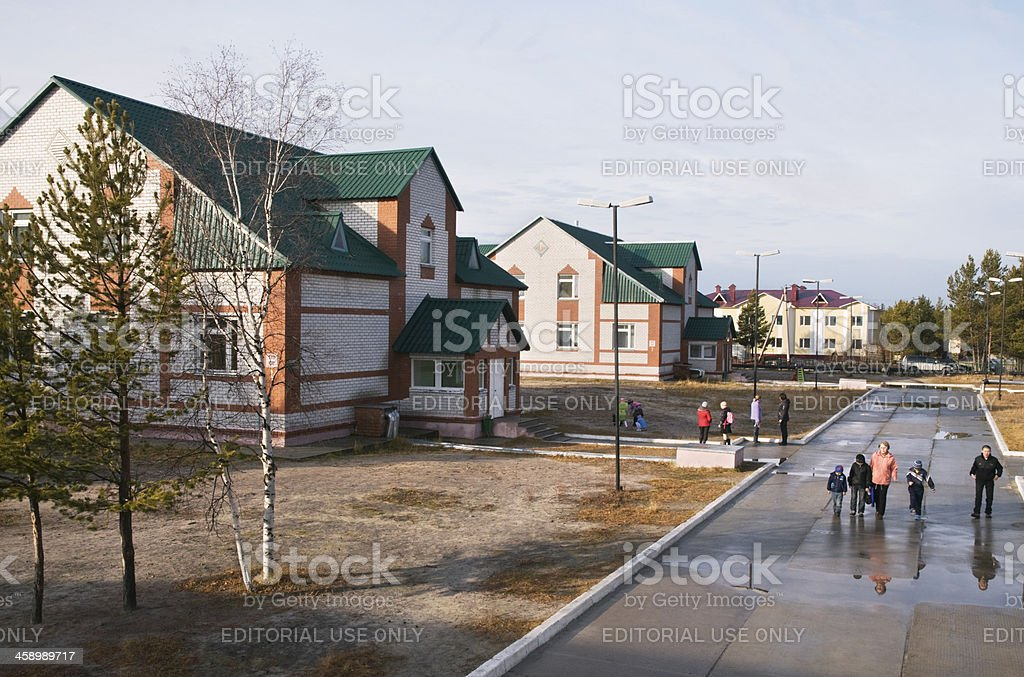 In  the village Kharampur. royalty-free stock photo