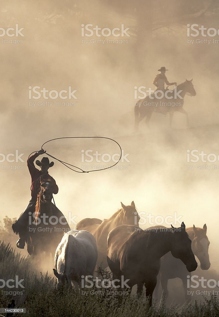 In the West royalty-free stock photo