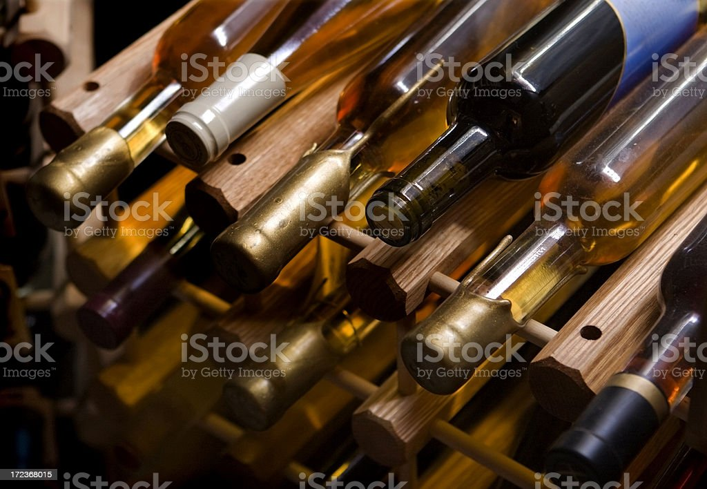 In the Wine Cellar royalty-free stock photo