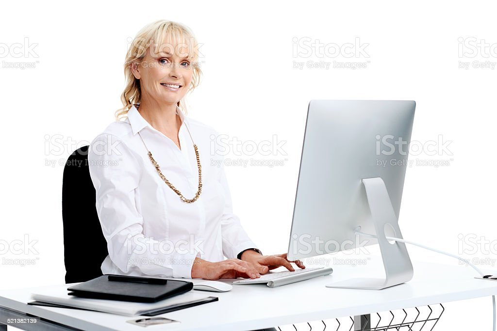 In the workplace stock photo