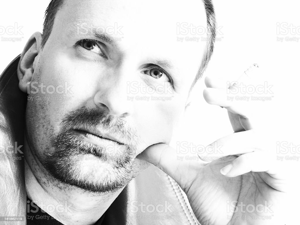 In Thoughts V royalty-free stock photo
