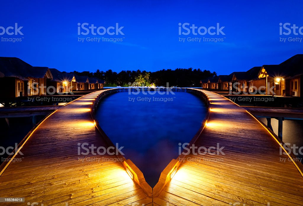 In to the Blue royalty-free stock photo