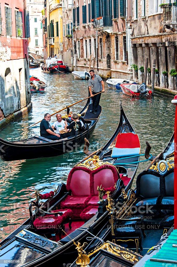 In Venice stock photo