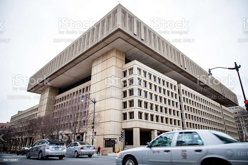 FBI H.Q. in Washington D.C. USA stock photo