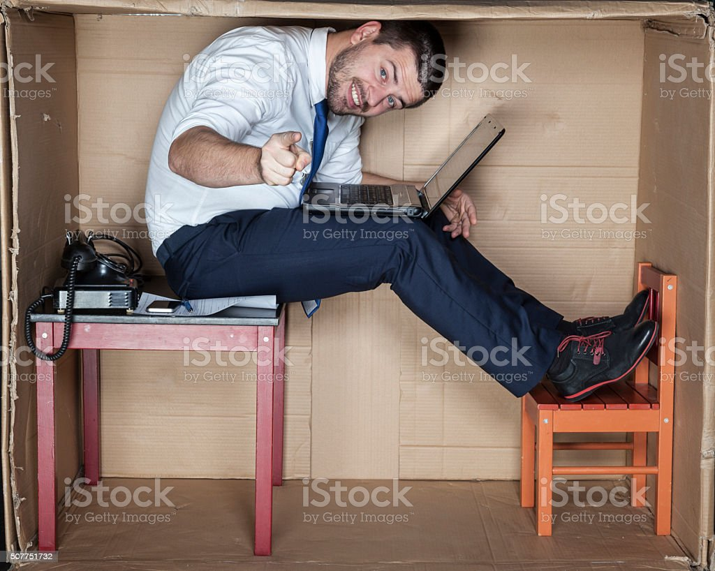 in what position you are working stock photo
