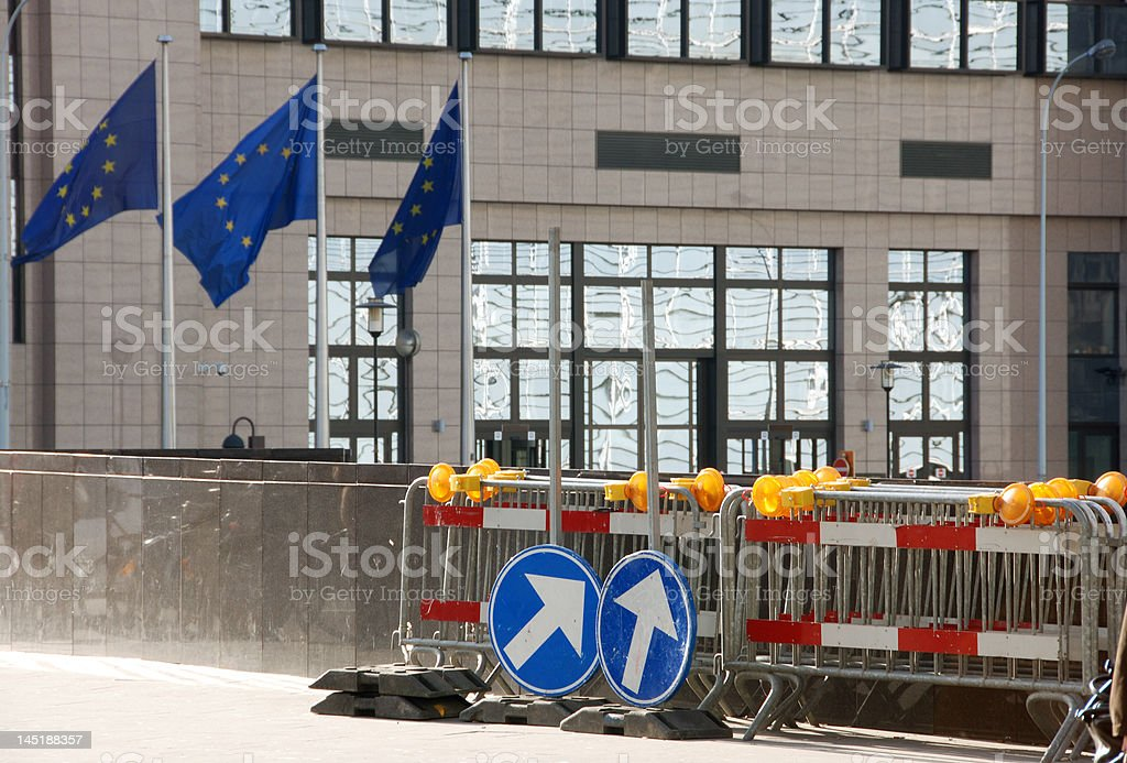 In which direction should EU go? royalty-free stock photo