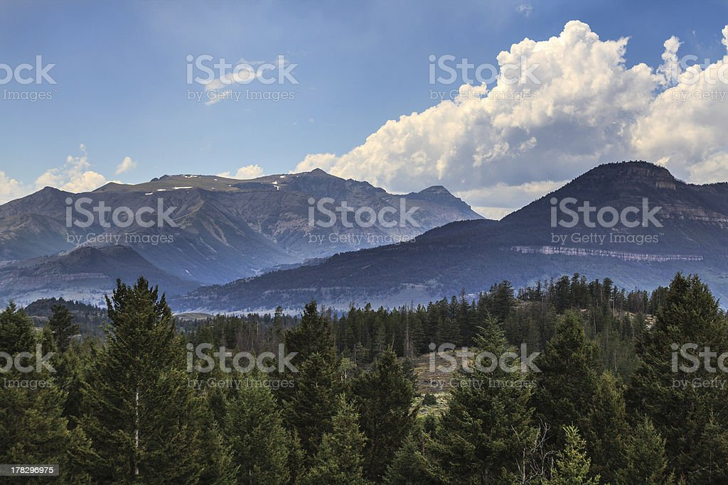 In Wyoming 10. royalty-free stock photo