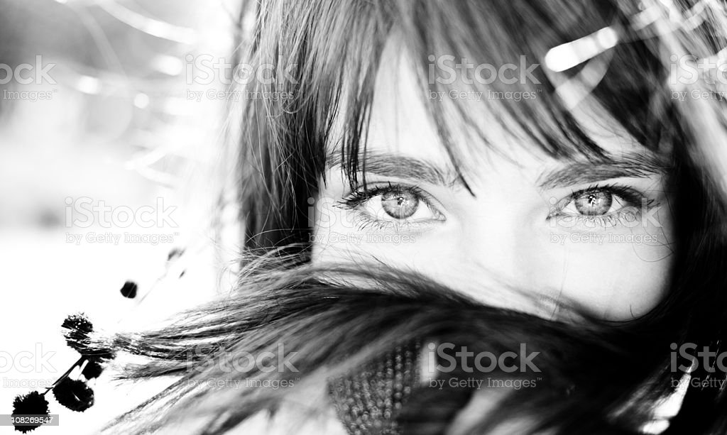 In your eyes stock photo