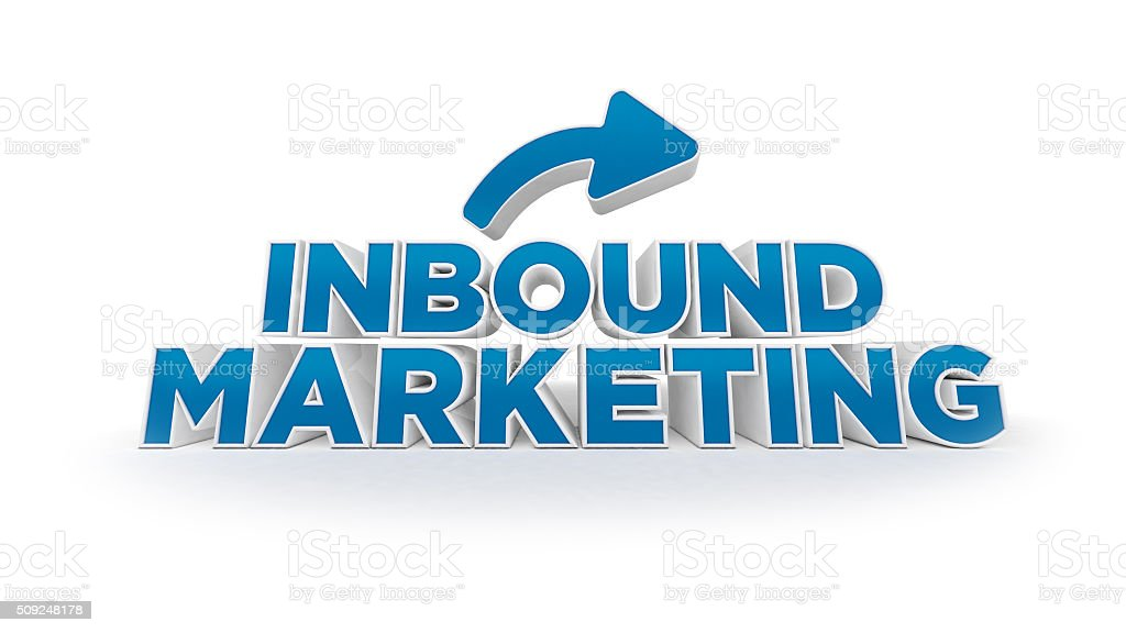 Inbound marketing stock photo