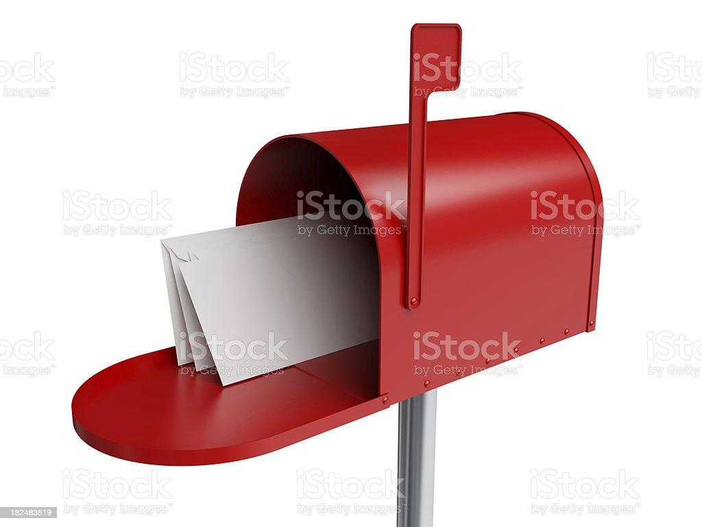 Inbox Mail - Mailbox royalty-free stock photo