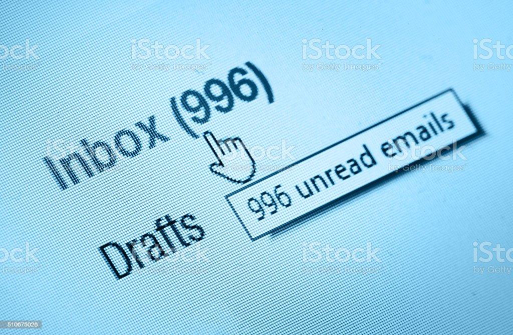 inbox stock photo
