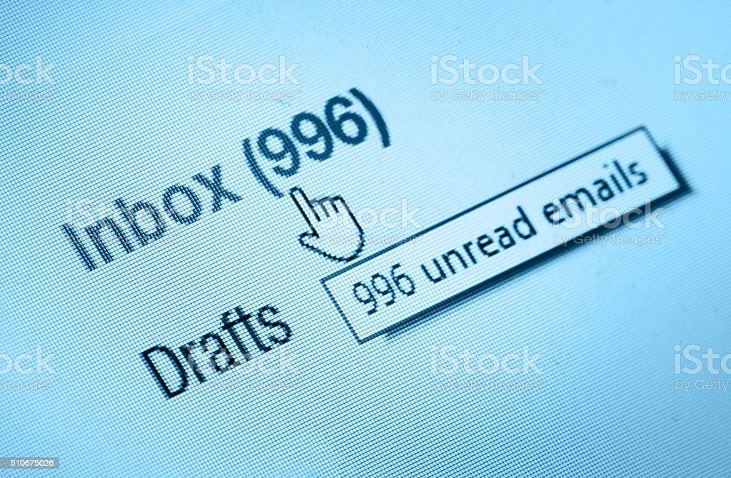 inbox stock photo