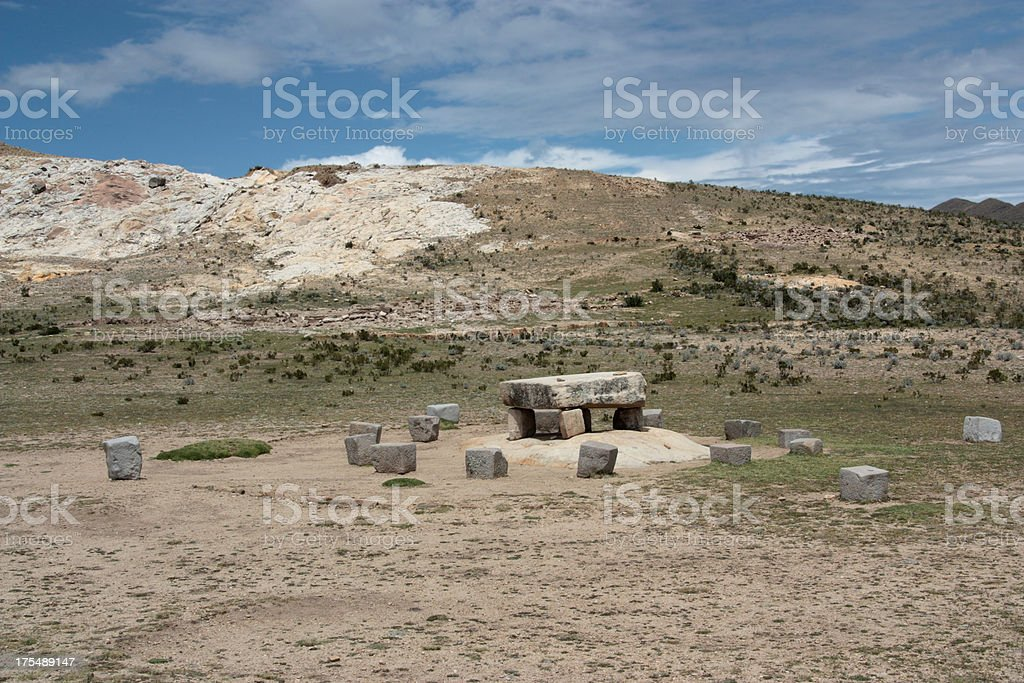 Inca Altar royalty-free stock photo