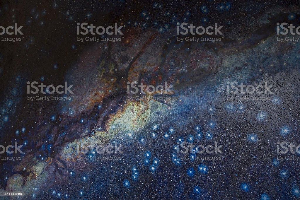 Inca Milky Way royalty-free stock photo