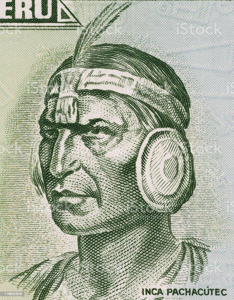 Inca Pachacutec stock photo