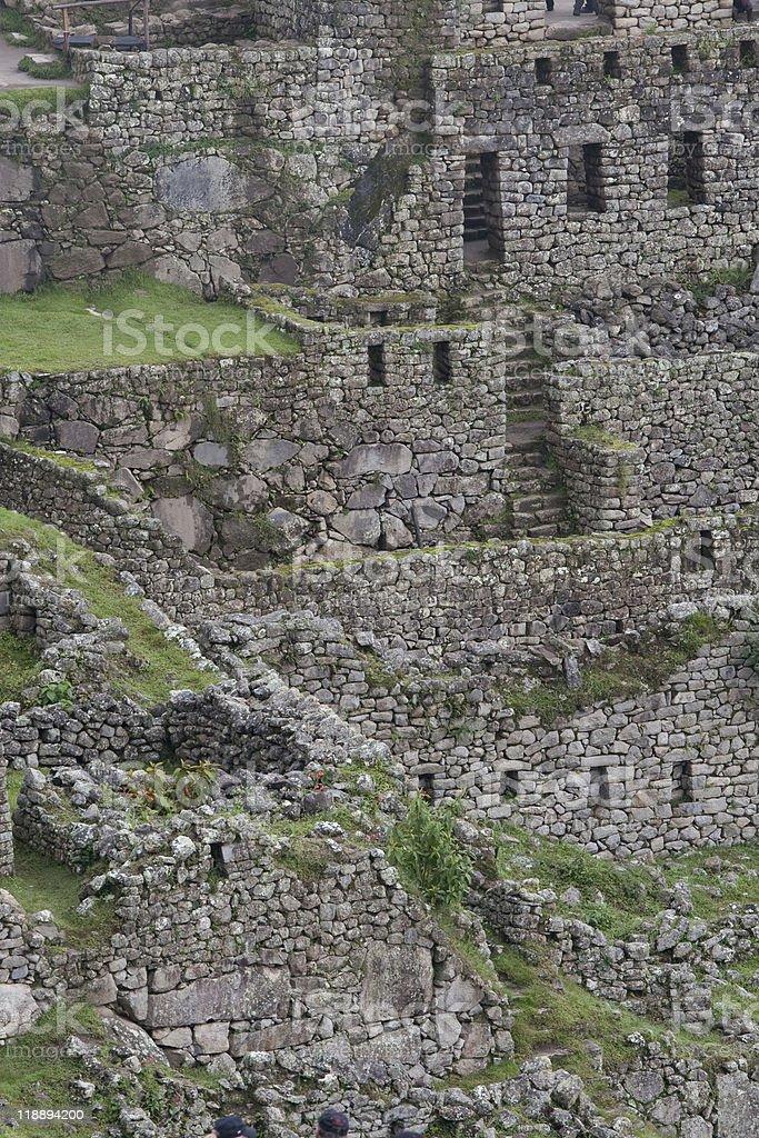 Inca Ruins stock photo