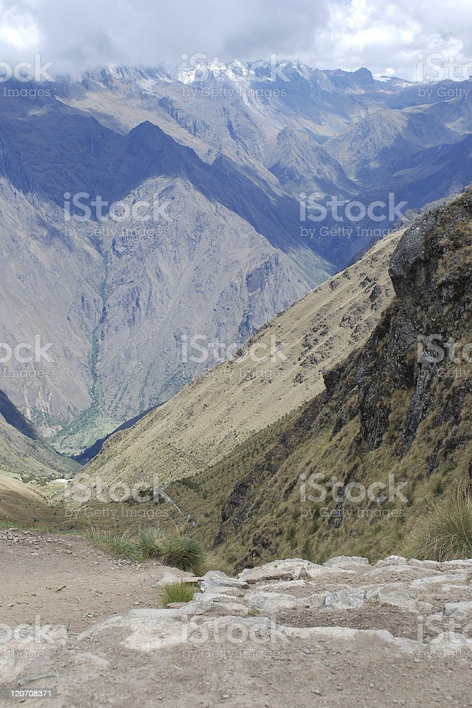 Inca Trail royalty-free stock photo