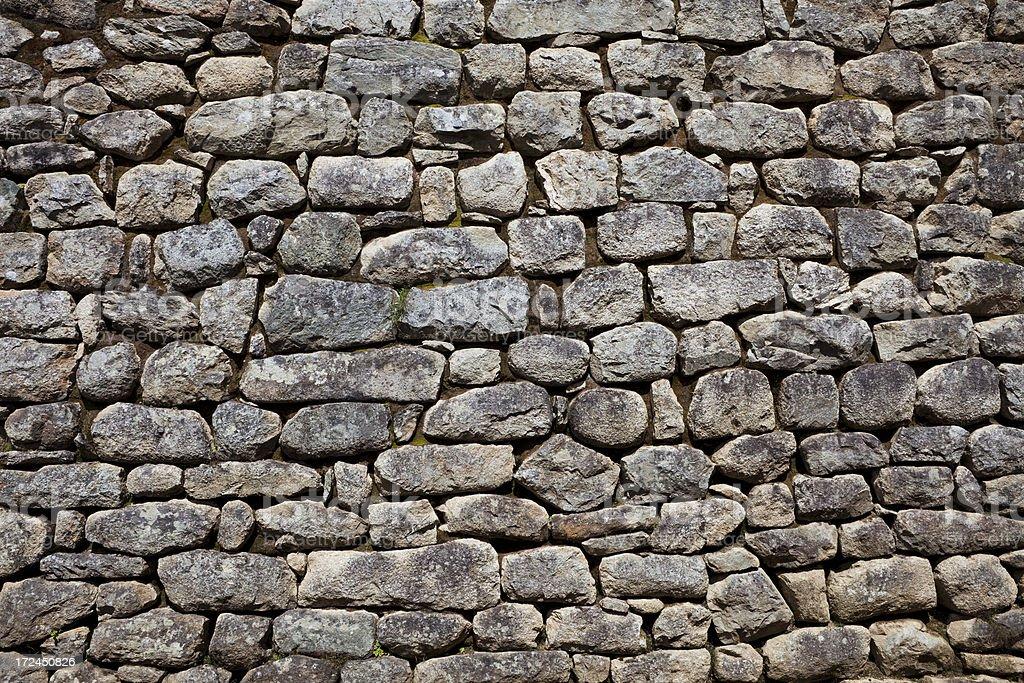 Incan Masonry Background royalty-free stock photo