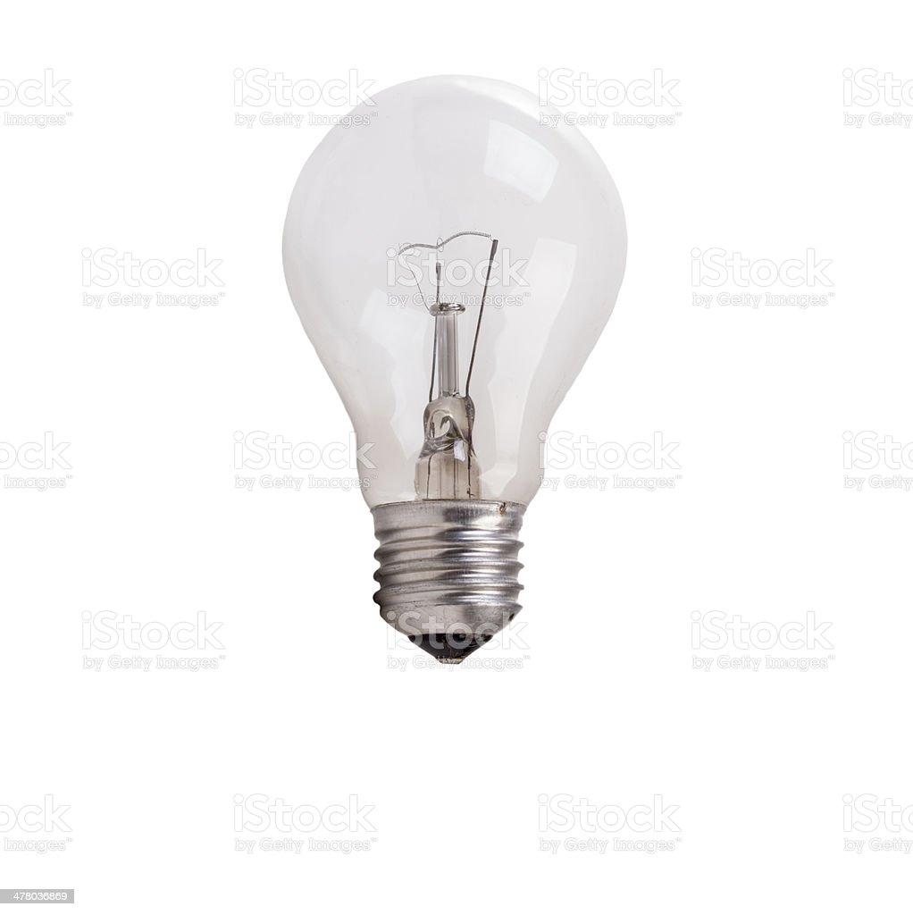 Incandescent lamp. stock photo