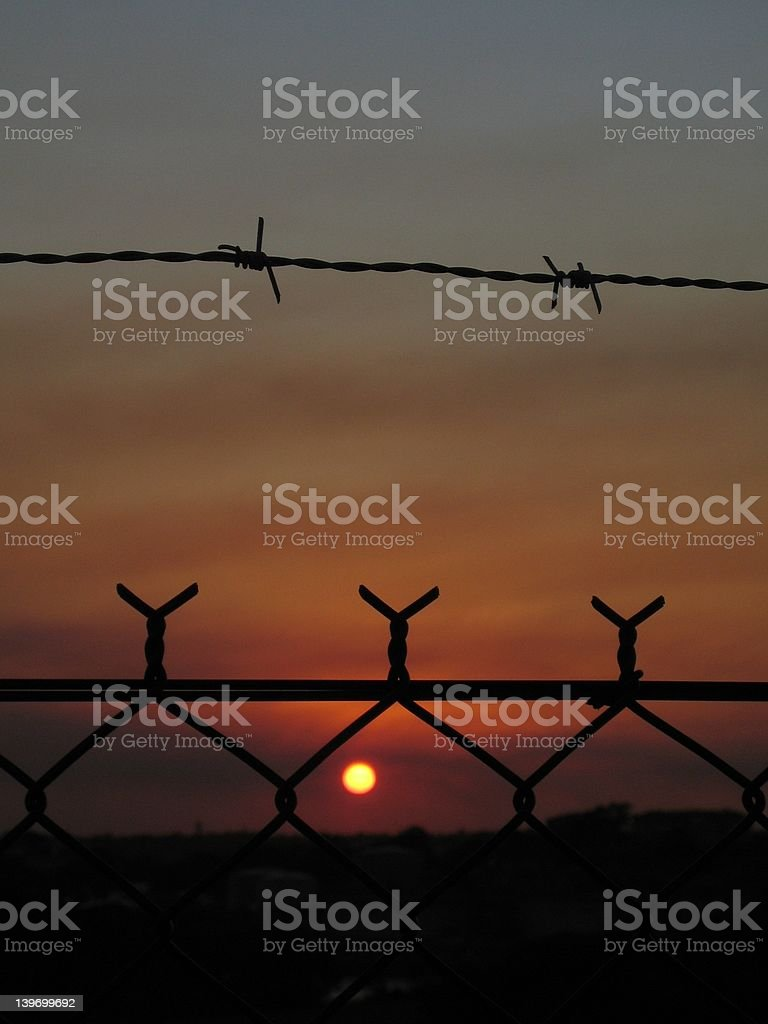 Incarcerated royalty-free stock photo