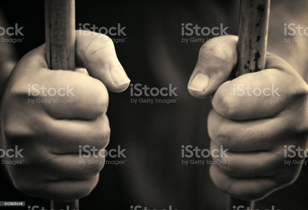 Incarceration stock photo