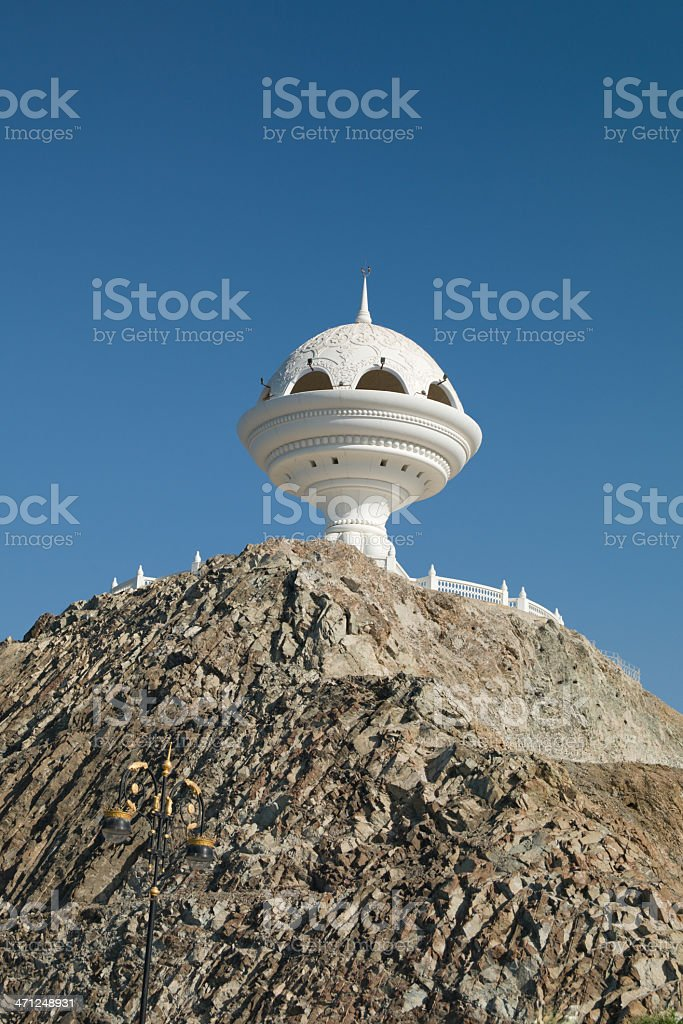 Incense Burner Muscat - Symbol of the Sultanate Oman stock photo