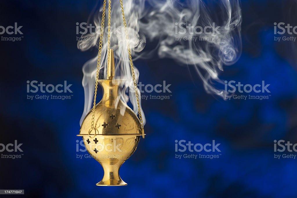 Incense Burner royalty-free stock photo