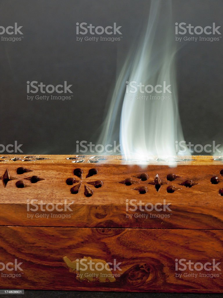 Incense Burner royalty-free stock photo