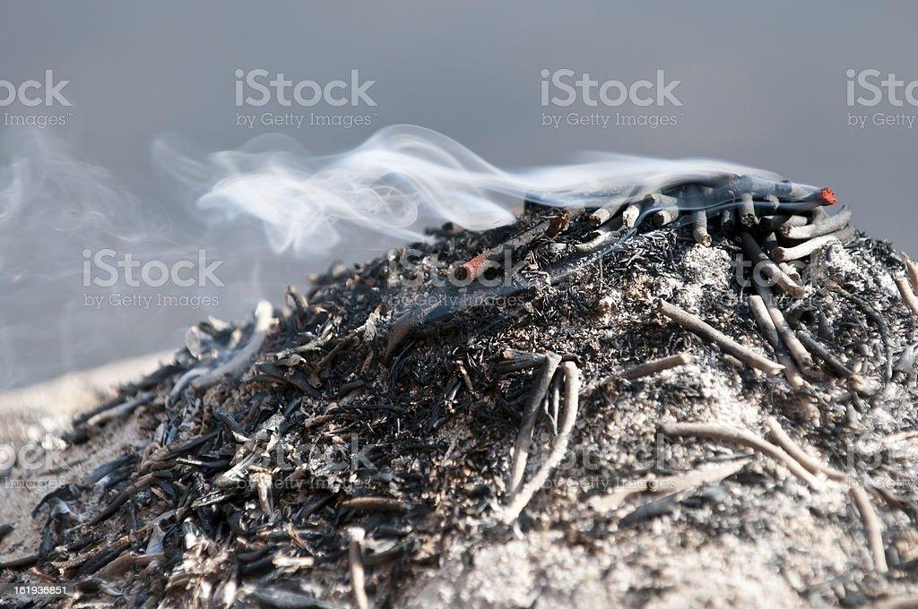 Incense royalty-free stock photo