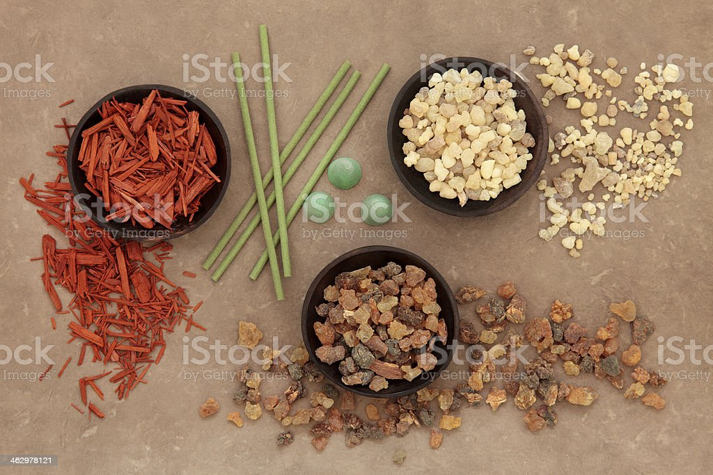 Incense Selection stock photo
