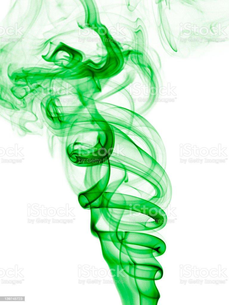 Incienso senderos de humo foto de stock libre de derechos