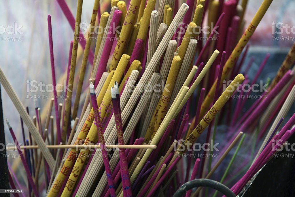 incense stick royalty-free stock photo