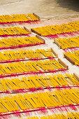 Incense sticks for traditional spiritual Buddhist burning in Vietnam