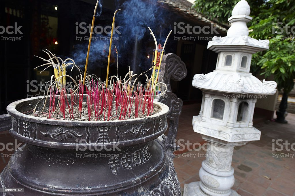 Incense Sticks royalty-free stock photo