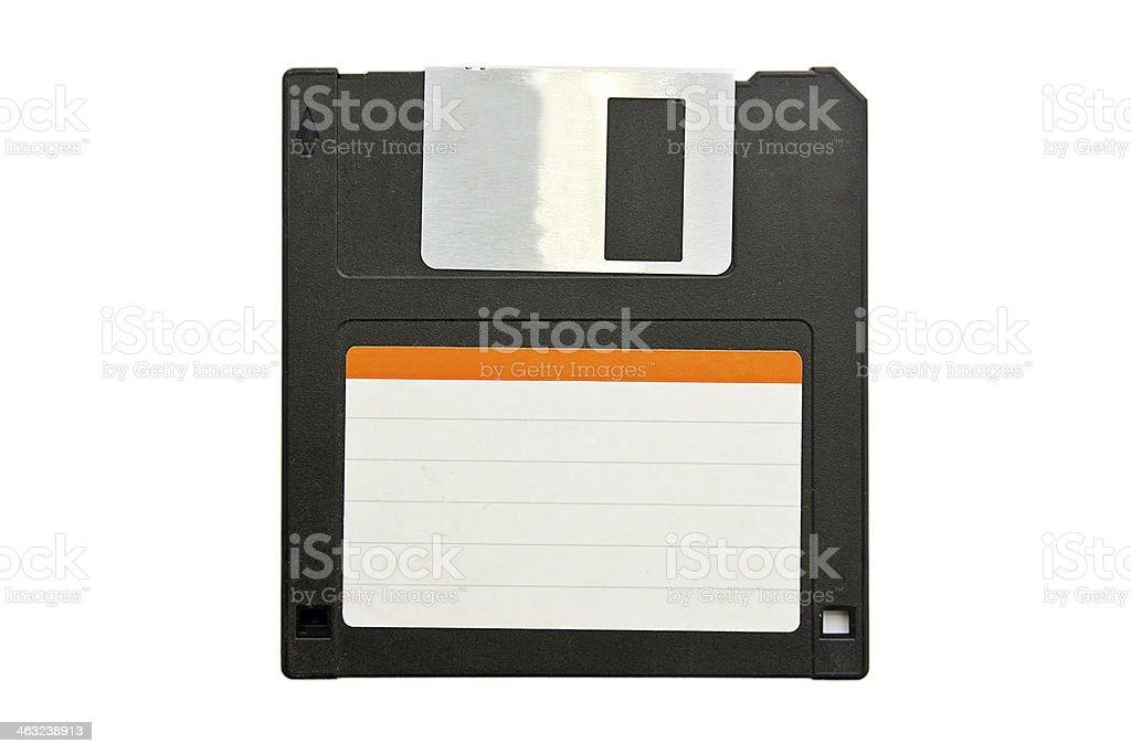 3.5'' inch floppy disk stock photo