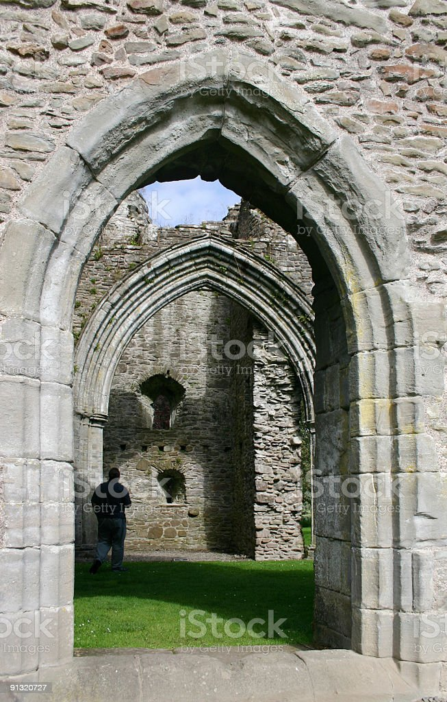 Inchmahome Priory royalty-free stock photo