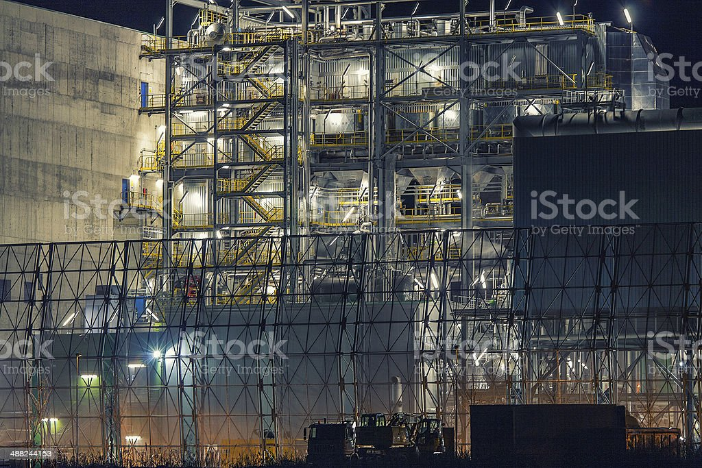 Incinerator stock photo