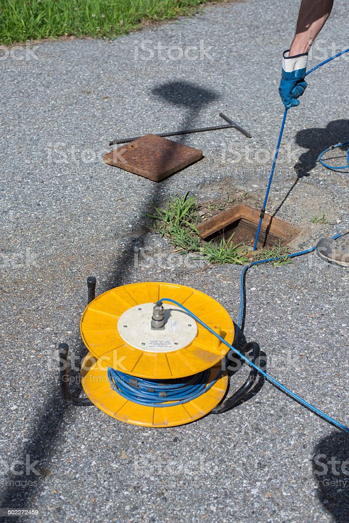 Inclinometer testing royalty-free stock photo