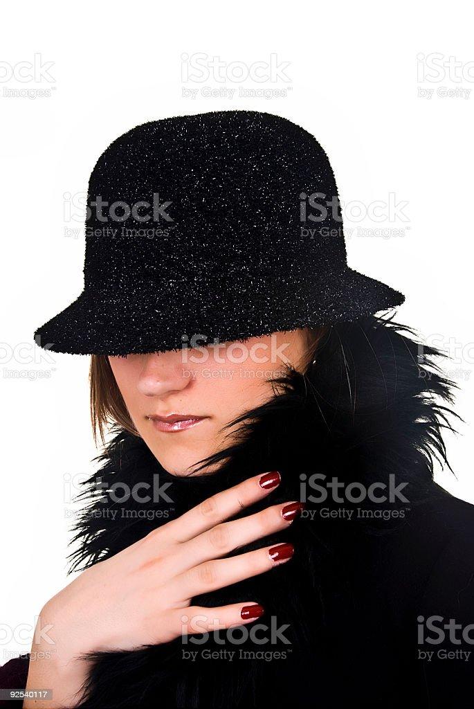 Incognito fashion stock photo