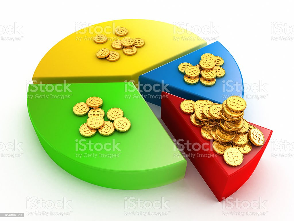 Income inequality stock photo