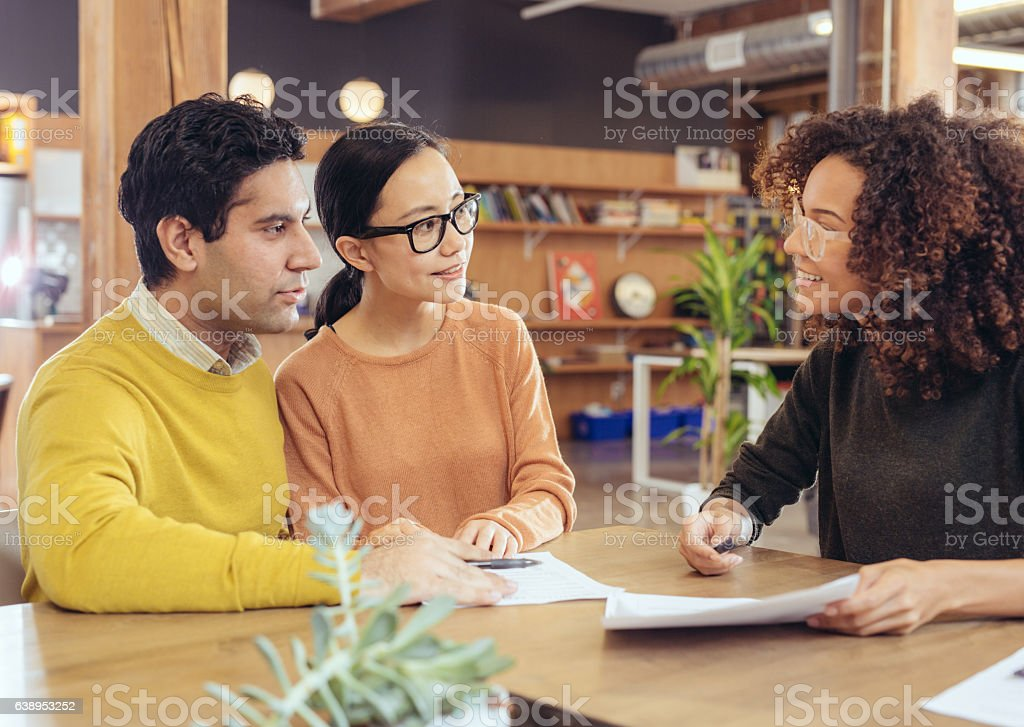 Income reports stock photo