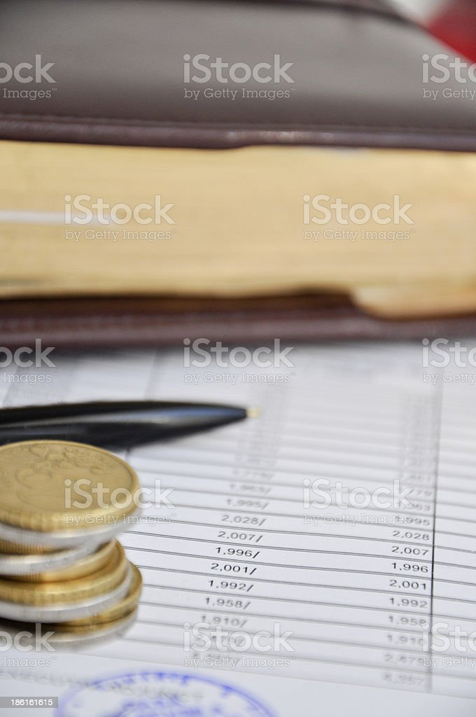 income statement royalty-free stock photo