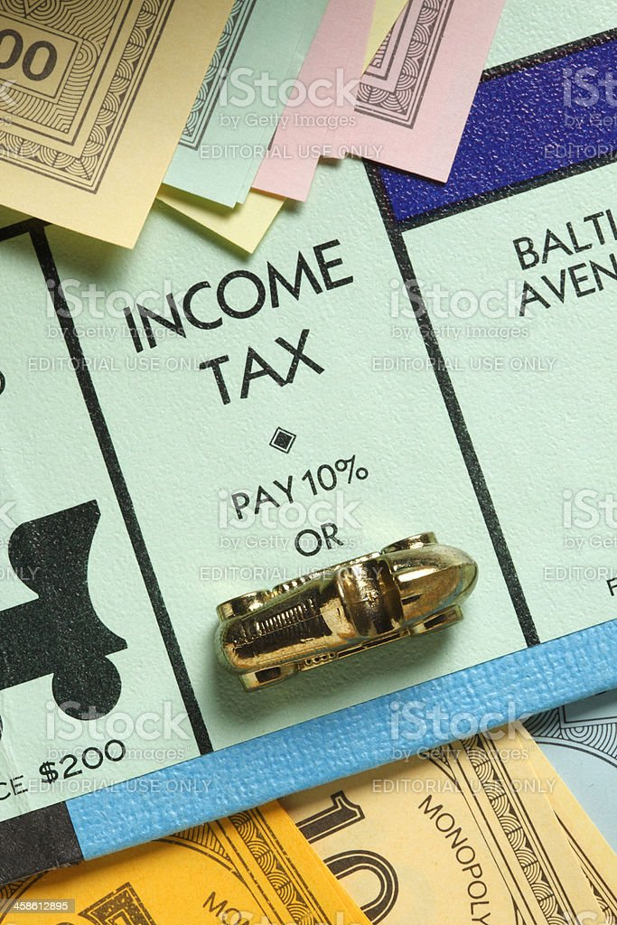 Income Tax royalty-free stock photo