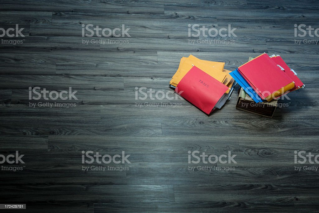 Income tax season royalty-free stock photo
