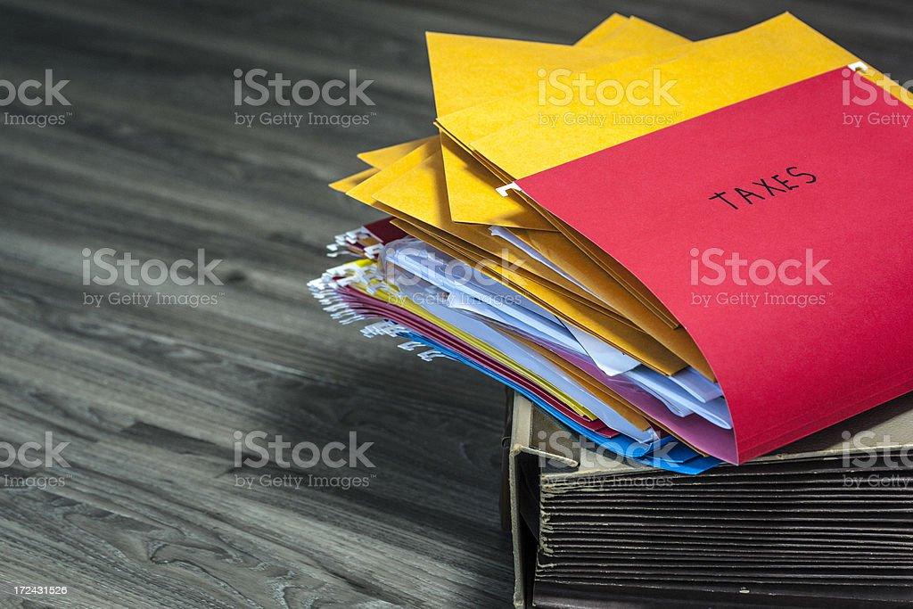 Income tax season royalty-free stock photo