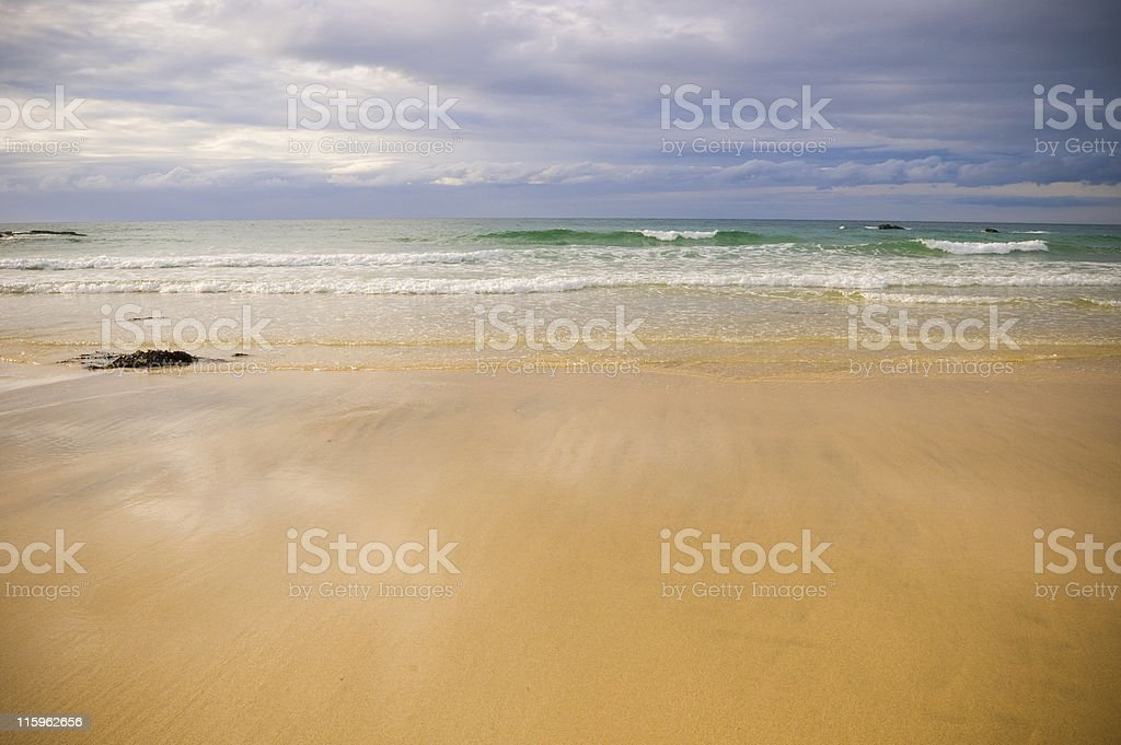 Incoming tide. royalty-free stock photo