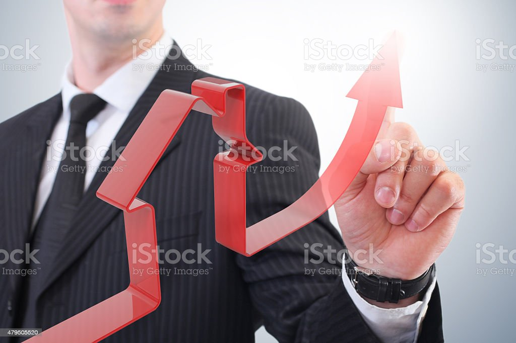 increase sales of real estate stock photo