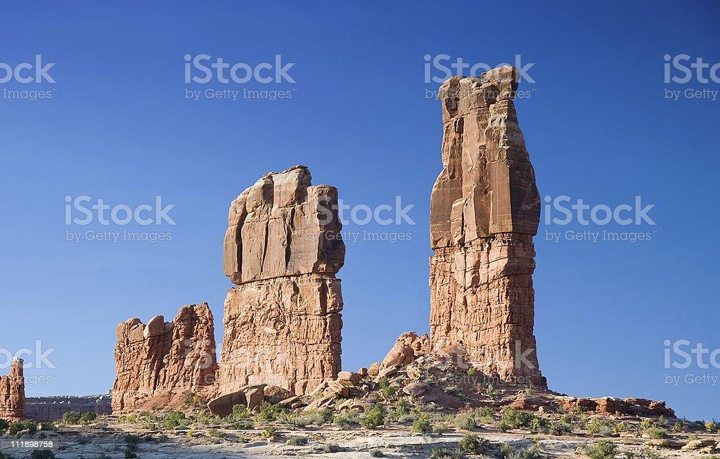 Increasing Rocks royalty-free stock photo
