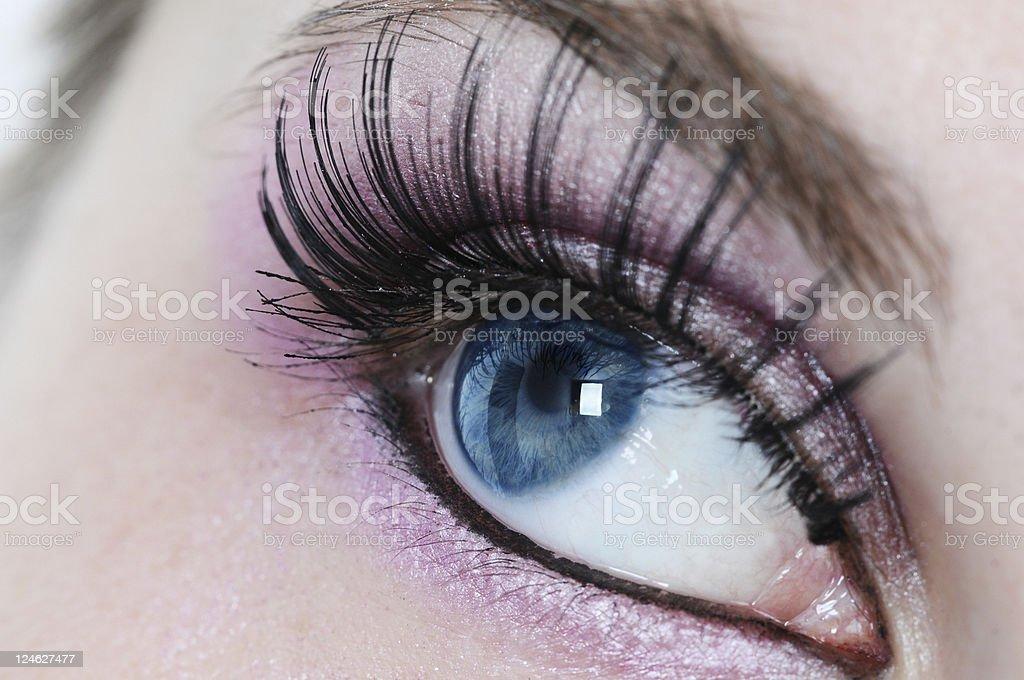 incredible beautiful eye royalty-free stock photo